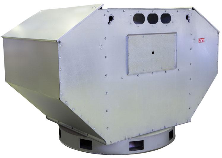 Вентилятор ВКРФ №7.1 В 2.2 кВт 1000 об/мин (Z=6)